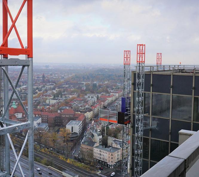 construction elevator rental